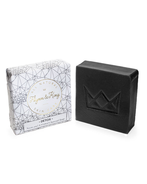 Artisanal Soap - DETOX - Neem And Activated Charcoal Soap
