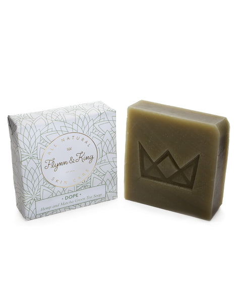 Artisanal Soap - DOPE - Hemp And Matcha Green Tea Soap