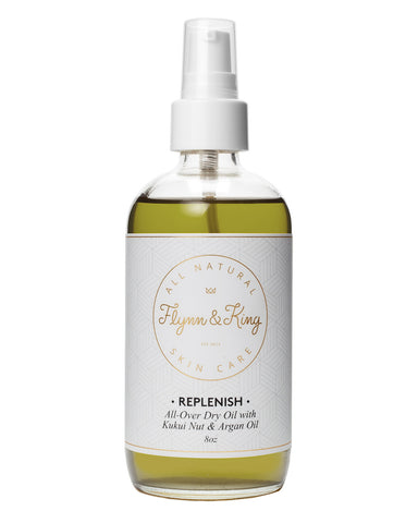 Body Oil - REPLENISH - All-Over Dry Oil With Kukui Nut And Argan Oil