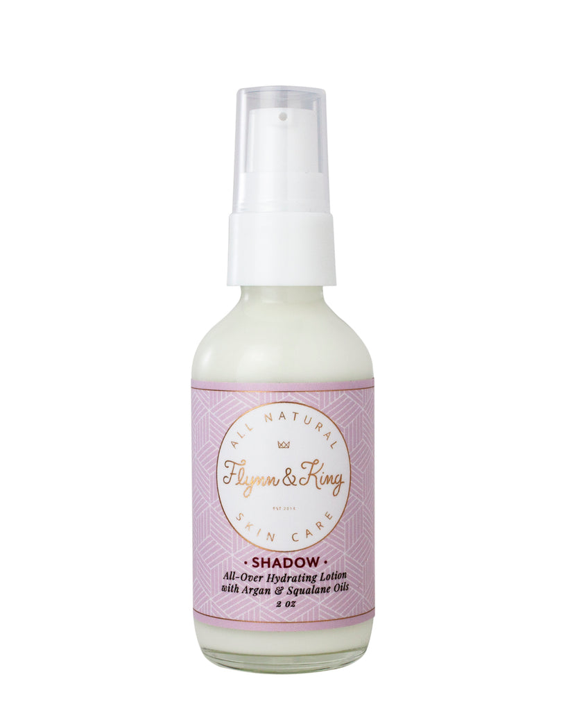 Flynn and King Travel Shadow Lotion with Argan and Squalane Oils