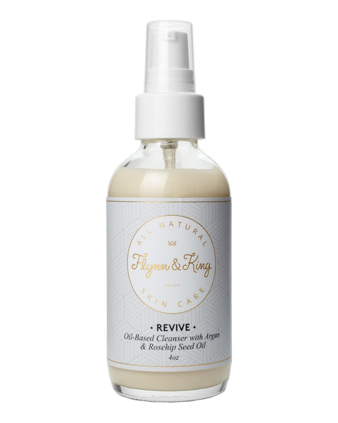 Oil, Cleanser - REVIVE - Oil-Based Cleanser With Argan And Rosehip Seed Oil