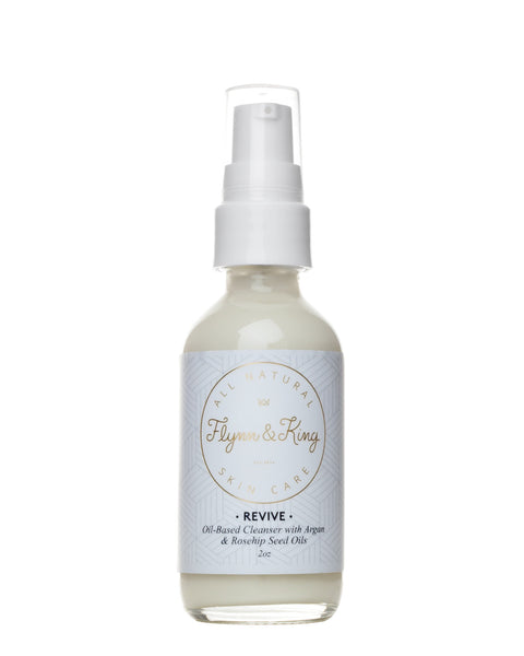 Oil, Cleanser - TRAVEL SIZE REVIVE - Oil-Based Cleanser With Argan And Rosehip Seed Oil