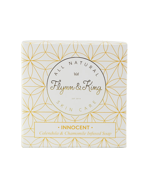 INNOCENT - Calendula and Chamomile Infused Guest Size Soap