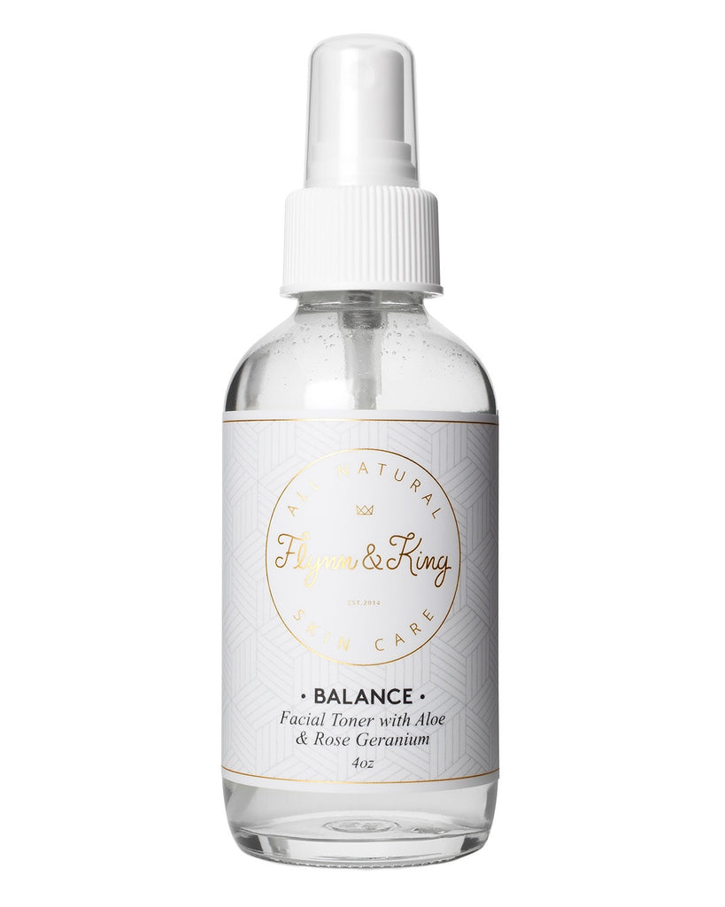 Toner - BALANCE - Facial Toner With Aloe And Rose Geranium