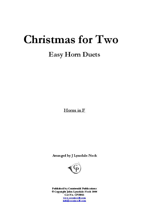Easy Duets - Christmas for Two CPH013