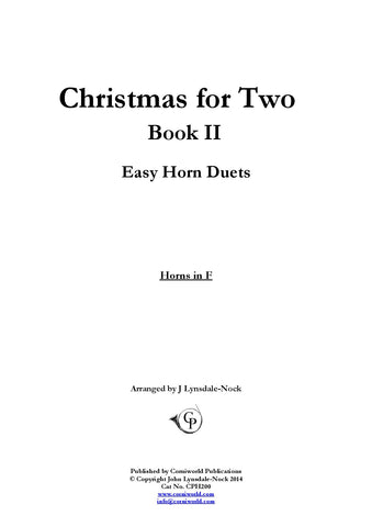 Easy Duets - Christmas for Two Book II CPH200
