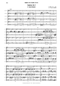2nd Mvt from Symphony No.8 (Dvorak) CPH222