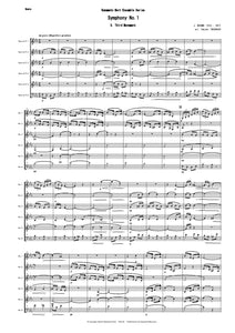 3rd Mvt from Symphony No.1 (Brahms) CPH124