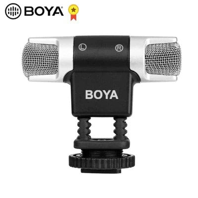 BOYA BY-MM3 Dual Head Stereo Recording