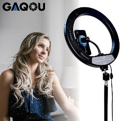 Photography LED Selfie Ring Light Dimmable Lamps
