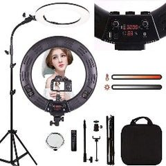 18 Inch Ring Light LED Video Light Dimmable 6000K Photography Lamp With Tripod Beauty Light Studio Photo Lamp For Video Makeup