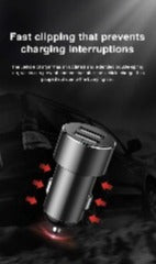 Baseus Car Splitter 12V-24V Dual USB Car Charger 100W Car Cigarette Lighter Socket Splitter Power Adpater For Auto USB HUB