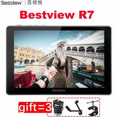 "Best View R7 4K 7"" 7inch Display HDMI Monitor LCD Touch Control Screen Monitor On Camera Field DSLR Monitor For Video Cameras-phtography-Pickandshop"