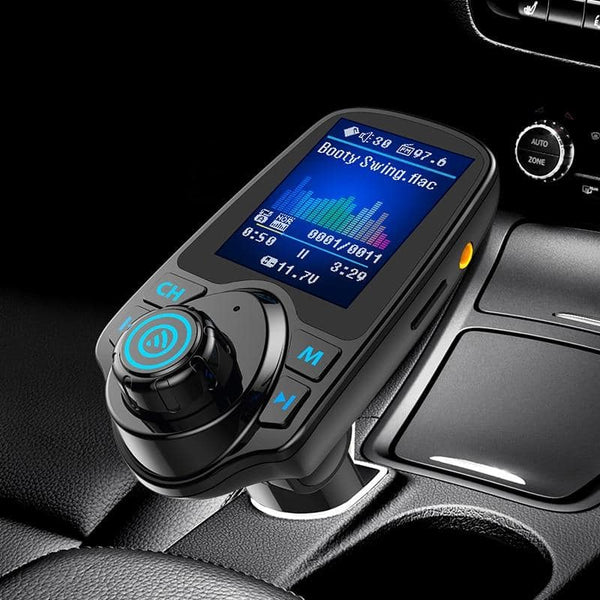 CDEN car multimedia player color screen car mp3 player fm transmitter U disk / TF music Bluetooth Car Kit car charger