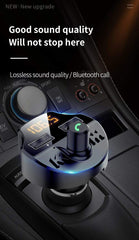 Car Bluetooth MP3 Music U Disk Player Multifunction Bluetooth Receiver Car Charger