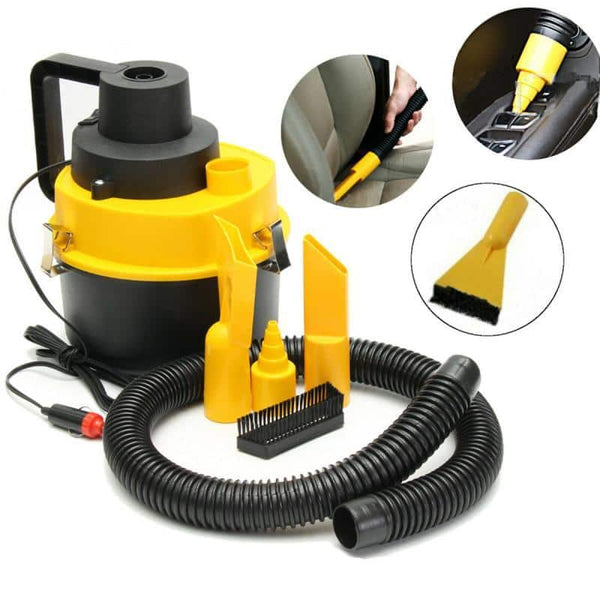 Car Vacuum Cleaner Handheld Powerful Suction Dust Box Low Noise Triple Filter Dust Collector For Auto Interior Home  Household