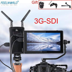 FEELWORLD LUT6S LUT6 6 Inch 2600nits 3D LUT HDR Touch Screen DSLR Camera Field Monitor  3G-SDI 4K with Waveform VectorScope