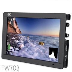 Fw703 7 Inch Ips 3G Sdi 4K Hdmi Dslr Monitor Full Hd 1920x1200 On Camera