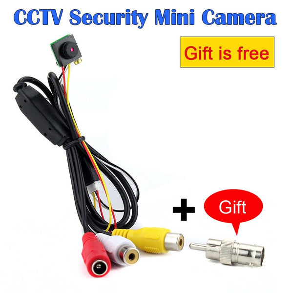 700TVL FPV Mini Home Security Surveillance Video Camera Micro CMOS Sensor