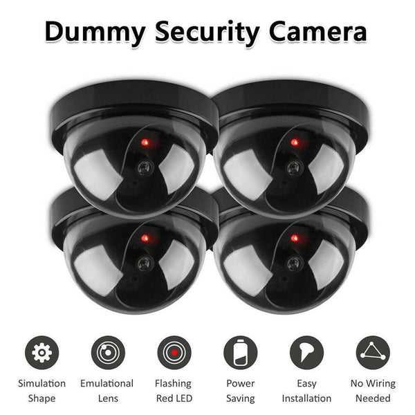 Wireless Dummy Fake Security Camera Mini IP CCTV Surveillance Indoor Outdoor Home Hidden Detect False Hemisphere Simulation