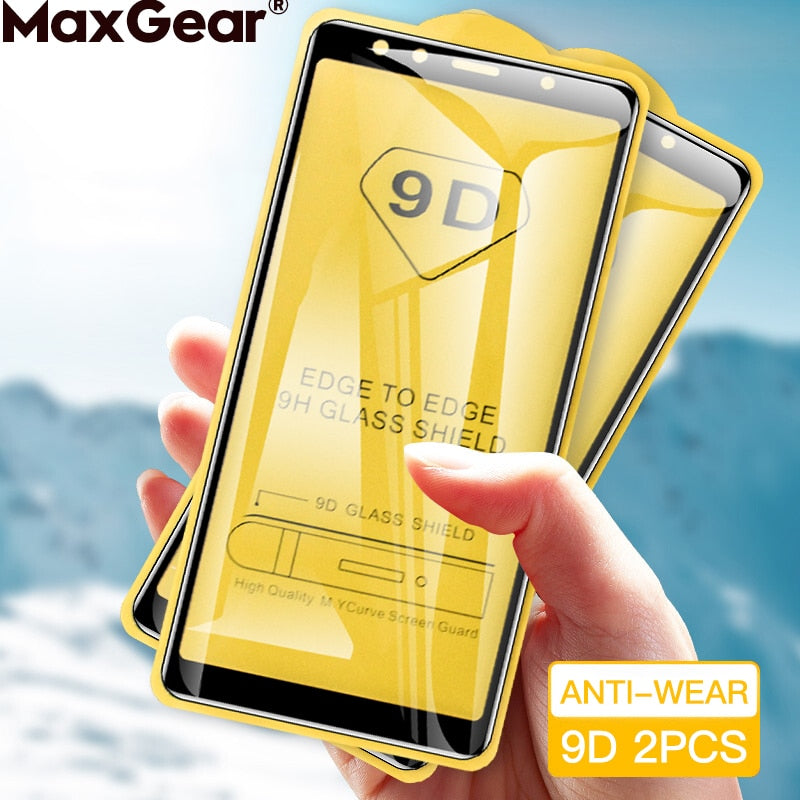 2Pcs Tempered Glass For SamSung Galaxy S10E A10 A50 A20 A40 A70 A20E A30 A 51 M31S A71 A51 Screen Protector Full Protective Film