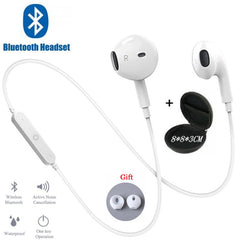 Sport Neckband Wireless Earphone Music Earbuds Headset Handsfree Bluetooth Earphone with Mic For All Phones For Samsung Huawei
