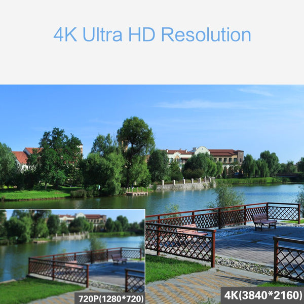 4K Ultra HD Video Surveillance Camera Kit 8X 8MP 8ch H265 DVR 30mNight Vision Out Door Wate Proof SIMICAM Cctv Security System