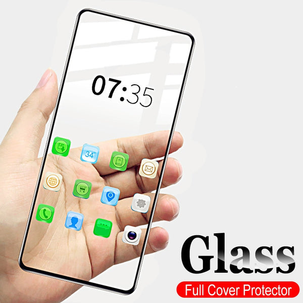 Full Cover Tempered Glass Screen Protector For Samsung A71 A51 A31 A11 A20 A20s A30 A30s A50 A70 A70s A90 S10 Note 10 Lite S10E