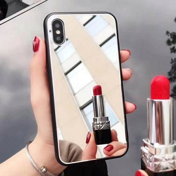 Acrylic Mirror Case For Samsung Galaxy A51 A71 A70 A50 A10E A20 A30 A80 A10S A20E A750 Note 10 9 8 S20 S10 S9 S8 Plus S10E Cover