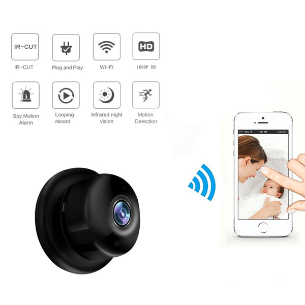 Wireless WiFi Mini IP IR Night Vision Car Camera Dash Cam Car DVR For Android IOS Outdoor Home Security Auto Recorder Car Cam