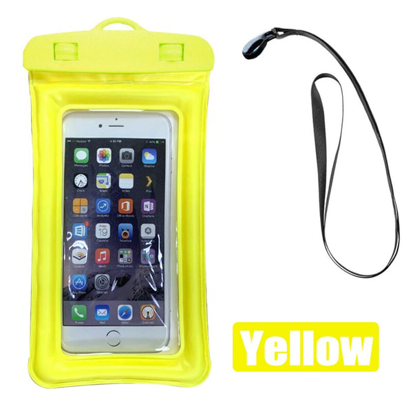 Airbag Waterproof Pouch Phone Case For iPhone 11 XS Samsung A51 S10 S20 Huawei P30 P20 P40 Redmi Note 9 Swim Water Proof Cover