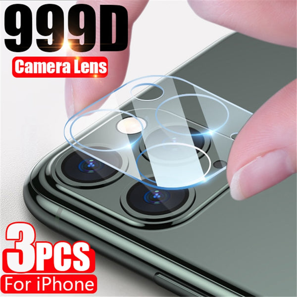 3Pcs Camera Protective Glass For iphone 11 Pro Max X XR XS MAX 12 Screen Protector On iPhone 11 6 6S 7 8 Plus SE 2020 Lens Glass