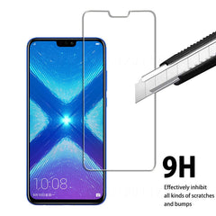 2pcs Honor 8x 9 10 Lite glass on for huawei honor 8x honer hono 8c 8 x Lite screen protector protective glass huavei x8 c8 8