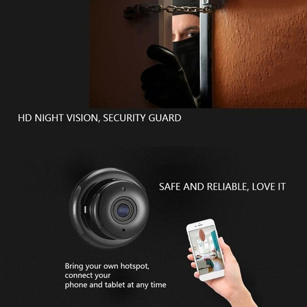 IP Camera Wireless Wifi Mini HD1080P Home Security Surveillance IR Night Vision Two Way Audio Motion Detection Baby Monitor V380