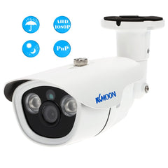 "KKMOON 1080P AHD CCTV Camera 2.0MP 3.6mm 1/3"" CMOS 2 Array IR LEDs Night Vision Waterproof Outdoor Home Security Bullet Camera"