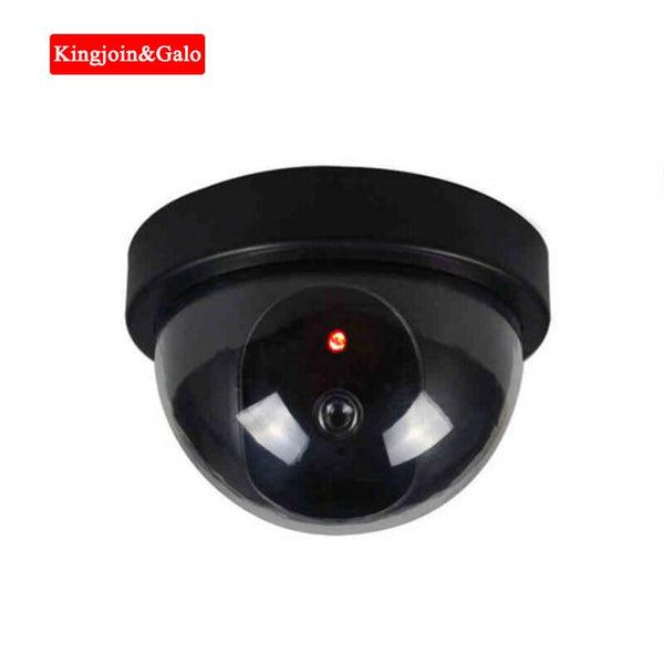 KJ&GALO Dummy Emulational Camera Fake CCTV Camera Dome Indoor Outdoor For Home Security Camera With Flash LED