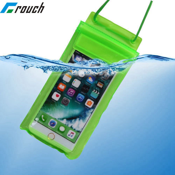 Swimming Bags Waterproof Bag Underwater Dry Case Pouch Cell Mobile Phone Case For iphone 6 6s 7 X 8 universal 4.7 5.5 5.8 inch