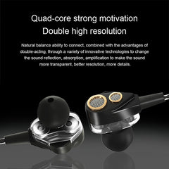 Double Dynamic Bluetooth Earphones 6D Surround Sound Headphone Support TF Card Stereo Bass Wireless Headset For Mobile Phone