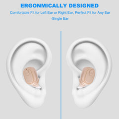 2020 small stereo earbuds hidden invisible earpiece micro mini wireless headset bluetooth earphone earbuds for phone #BL5