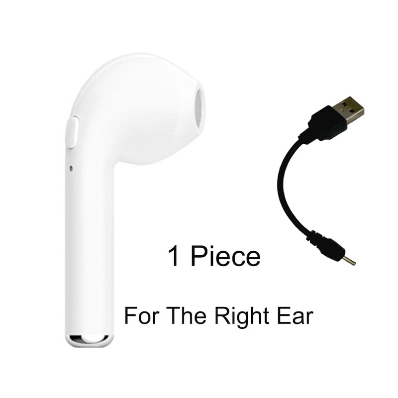 For iPhone XR XS Max 7 8 X 6S 6 Plus SE 5S 5 4S 4 Earphone Bluetooth Wireless Headphone Sport Headset Earpiece Phone Accessory