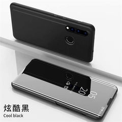 For Huawei Honor 10i Case Luxury Smart Mirror Flip Clear View Cover On Honor10i HRY-LX1T Accessory For Honor 20i Fundas Coque