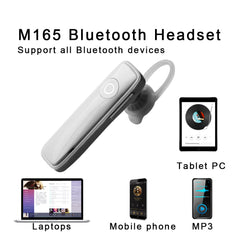 2019 New Fashion M165 Wireless Bluetooth Earphone Headphone Mini Wireless Bluetooth Handfree With Mic For IOS Android
