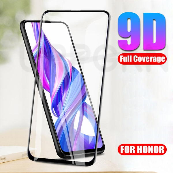 9D Full Screen Protective Glass on the For Huawei Honor 9X 9A 9S 8X 8A 8S 20 Lite 20i 20S 30 30S Tempered Glass Safety Film Case