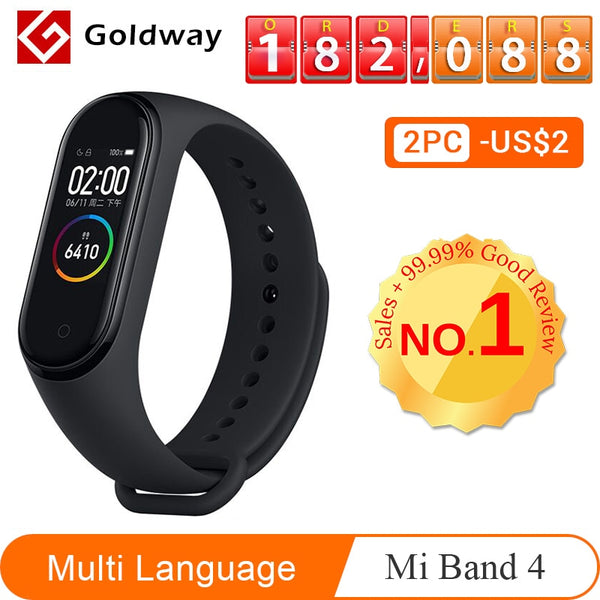 Xiaomi Bluetooth Sport Waterproof Smart Band Watch