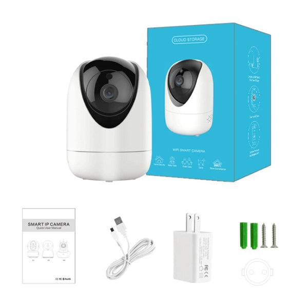 New PTZ Smart Wifi Camera HD 1080P Indoor Wireless IP Camera Intelligent Auto Tracking Of Human Home Security Surveillance