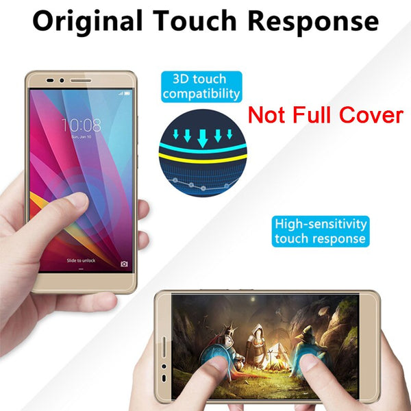 Tempered Glass for Honor 10X Lite 8X 7X 6X 5X 4X 3X Protective Screen Protector for Huawei Honor 9X 9C 8C 6C Pro 4C 5C Glass