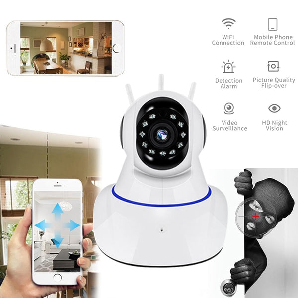 HD Wireless WIFI IP Camera Home Indoor Security Monitor Smart Network Video System Night Vision Work With EWeLink APP