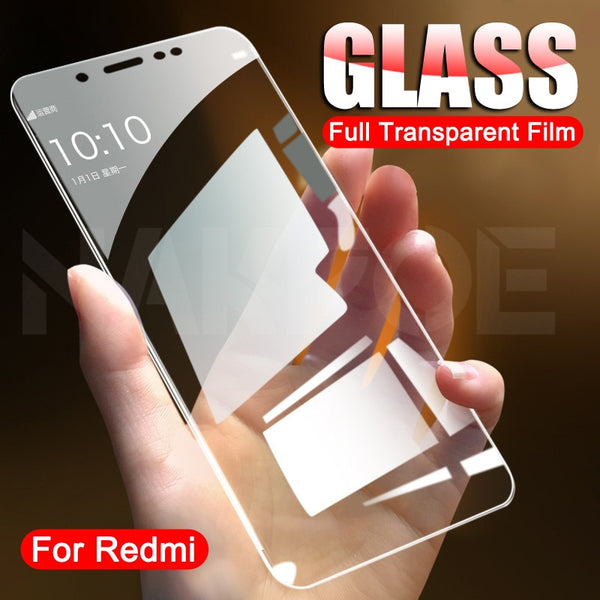 Protective Glass on the For Xiaomi Redmi 5 Plus 5A K20 K30 S2 Tempered Screen Protector Redmi 6 6A Note 6 5 5A Pro Glass Film
