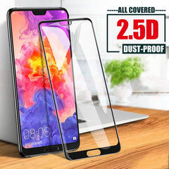 1/2 Pcs! HD Screen Protectors for Huawei P30 P40 P20 Pro Lite E Tempered Glass For Huawei Mate 20 Lite P Smart Z Pro 2018 2019