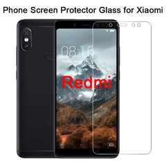 Smartphone Protective Glass for Xiaomi Redmi Note 7 6 5 Pro 5A Prime 9H Toughed Screen Protector on Redmi Note 4X 4 3 2 Film